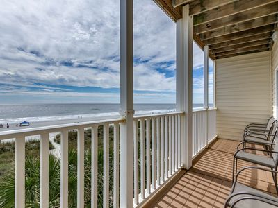 Photo for New to Rental! Two-Story 3,000 Sq Ft Oceanfront Condo with Pool Table
