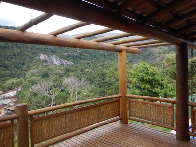 Photo for House with pool and great view of the waterfall and the Atlantic Forest