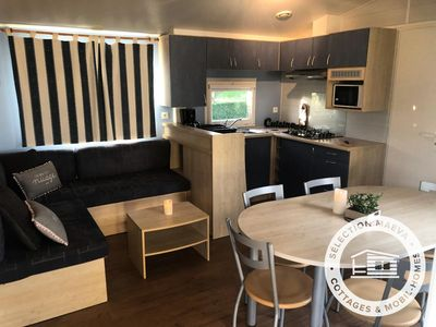 Photo for Camping Les Franquettes **** - Maeva Camping - Mobil Home 4 Rooms 6 People
