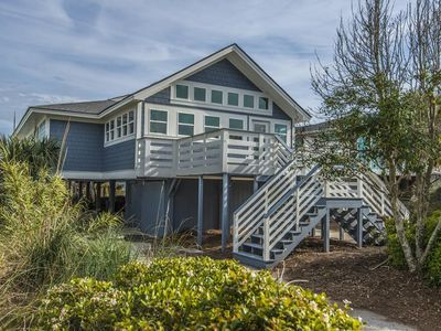 Photo for Newly Remodeled Oceanfront! 2 Living Areas, Open Floor Plan, Marsh & Ocean Views. Namaste
