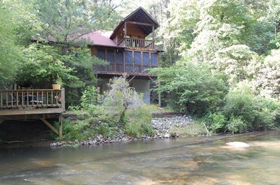 Cartecay Hideaway, steps from the river