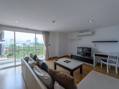 Photo for 2Bedroom/Kitchen/10mins to BRT/Near Sathorn/AFB