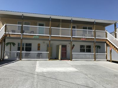Photo for Oceanview!!  207 E Boardwalk Apt. C- Across From Beach Access