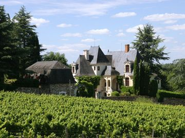 4**** cottage with pool in a Renaissance manor of the Loire valley - 'Aubance' cottage, Manoir de la Groye