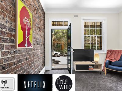 Photo for Sydney 2br house - Prime Location with free Wine, WiFi & Netflix