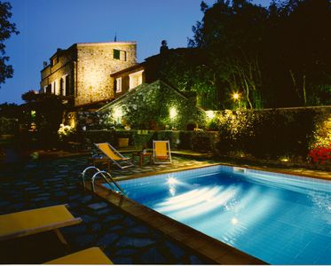 Photo for -Fascinating Luxury Villa with private pool in the ancient medieval village.