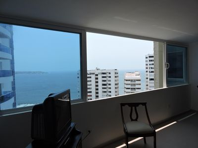 Photo for CARTAGENA APARTMENT WHERE BOCAGRANDE FINISHES AND START LAGUITO SECTOR