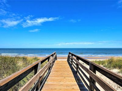Photo for Beach Cottage Surf Suite (2 bd/1 bth condo 1 block from beach)