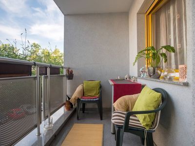 Photo for Holiday apartment with balcony, air conditioning and internet