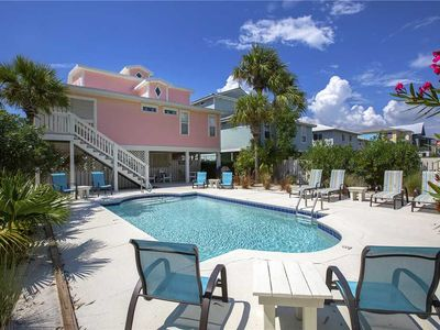 Photo for Grayton Sunset - Gulf View, 30A, Heated Private Pool, Steps to the Sand!