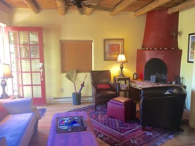 Photo for 1930's CASITA - in  the SWEET HEART of Santa Fe!  (South Capital)