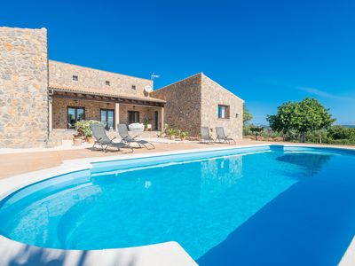 Photo for BELLPUIG - Villa with private pool in Artà.