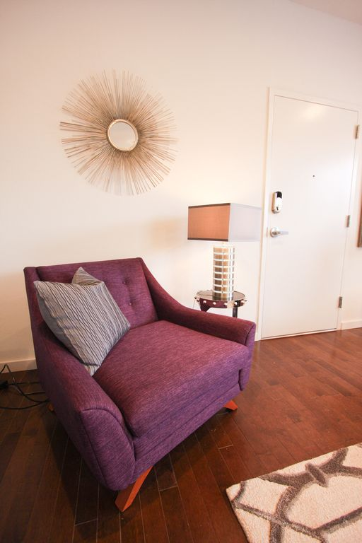 New Urban One Bedroom Condo at The Civic. Perfect to complete an evening in OKC.