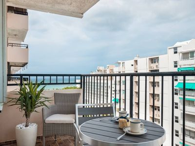 Photo for Ocean View/One bedroom Apt Across the Street from the San Juan Hotel