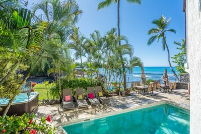 Next to the waves, Pool and Spa...Live your Dream .