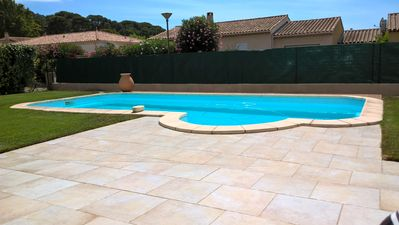 Photo for Villa with private pool 800 m beach