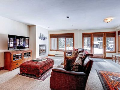 Photo for Natural Ground Level Vail One Bedroom + Loft Condo. Steps to Lift, Hot Tub, Pool