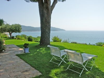 Photo for Villa with panoramic sea views