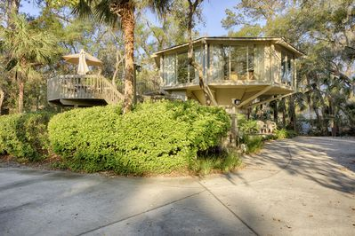 """Tree House """"For the Young at Heart"""" So close to the beach you can hear the ocean"""