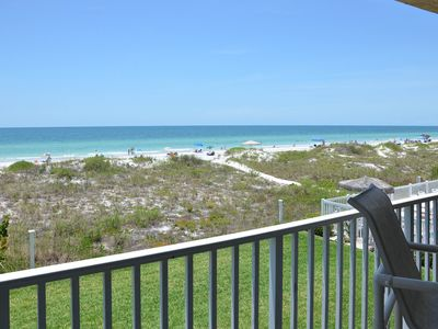Photo for NEW LISTING! Beachfront condo w/shared pool/hot tub - easy access to dining