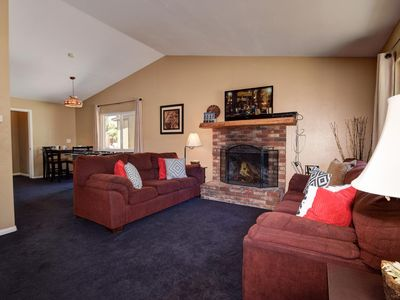 Photo for Foothill Lodge: Walk to Village & Lake! Game Room! 6 Bedrooms! 4 Bathrooms! Cable! Internet!