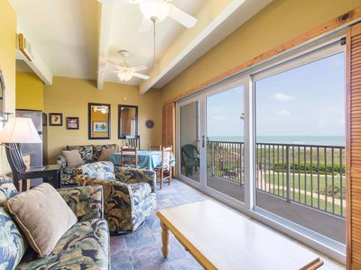 Photo for Aquarius 207 - In need of a Tropical Getaway, this is the Vacation Spot for you! A Beachfront Condo with Panoramic Ocean Views and 2 Private Balconies!