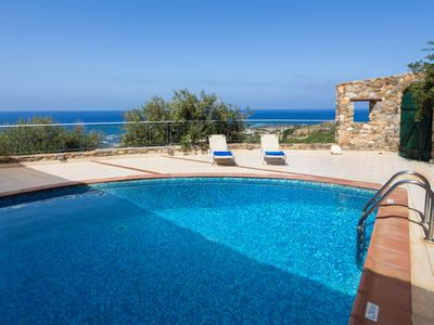 Photo for Amazing Sunset Views + Private Pool. 20 min drive to Elafonissi beach.