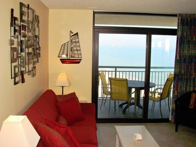Photo for Luxury, Upgrades, Big Beds & Wrapped Balcony on 18th Floor at Oceanfront Reso