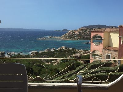 Photo for SARDINIA LA MADDALENA, NEW, 50m FROM THE SEA AND A BEAUTIFUL VIEW OF THE BREATHTAKING