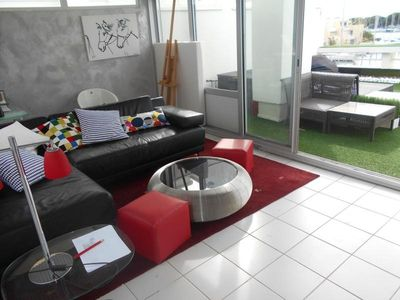 Photo for Apartment Port Camargue, 2 bedrooms, 4 persons