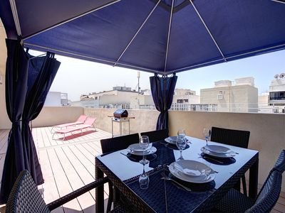 Photo for Off the Point Sliema Penthouse
