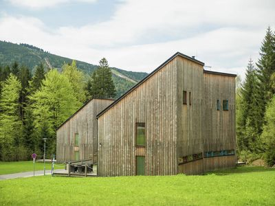Photo for Spacious chalet in residential area, modern, luxury interior, large terrace