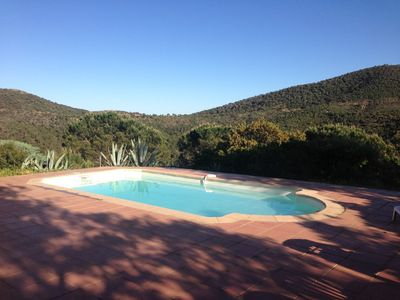 Photo for Villa for 12 people with pool overlooking hills