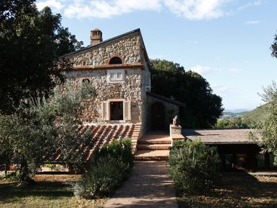 Photo for Charming, newly renovated olive grove in the heart of Tuscany