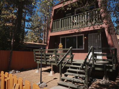 Photo for Charming Cabin, IDEAL Location! (Netflix, Jacuzzi, Fireplace)