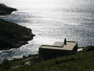 Photo for Sea house, peaceful holiday, sea-sunset views, private beach