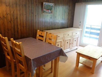 Photo for 2 room apartment, 2 * for 4 people in the center at approx 350 m from the telecabine.Bright living r