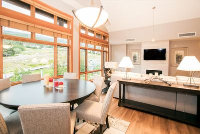Simply the Best Views of Snowmass Mountain from our Living and Dining Room