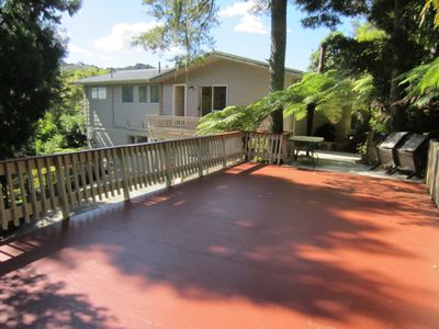 Photo for Peaceful bush setting in Central Paihia ~ Walking distance to all amenities