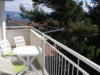 Photo for Apartment Stipan  A4(2+2)  - Slatine, Island Ciovo, Croatia