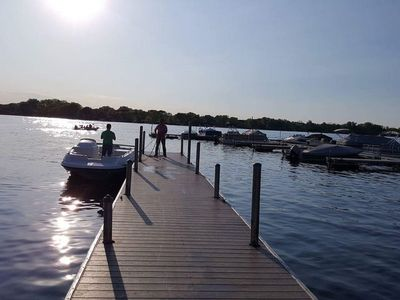 Boat launch, both sides