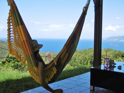 Photo for 2 rooms Ground floor overlooking the Caribbean Sea