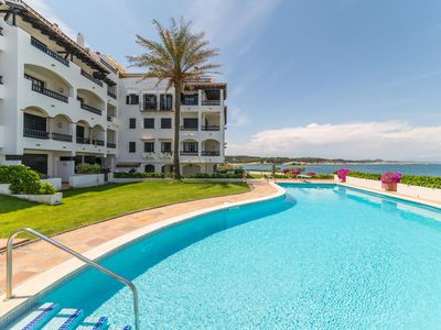 Photo for Punta Romana: Frontline apartment with communal pool