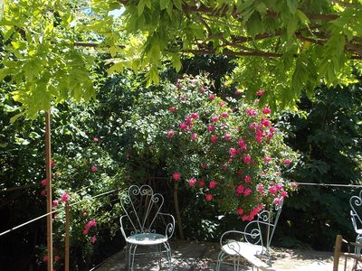 Photo for Gîtes de France label - 3 ears of corn - Charming apartment and its private terrace
