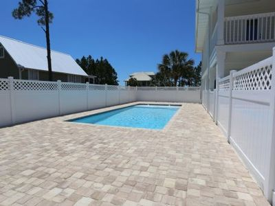 Photo for Private Pool, 4 Bedroom, Gulf View, Quiet Beaches ~ Treasure Road