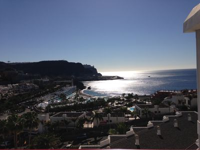 Photo for Beautiful apartment with sea view in Playa de Cura