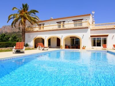 Photo for VILLA OSCAR, JAVEA - 5 Bedrooms, Heated Private Pool, WiFi, A/C, BBQ, Games Room