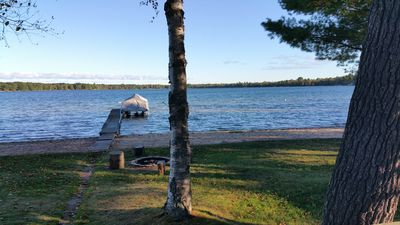 Photo for Lake Front House on Beautiful Birch Lake
