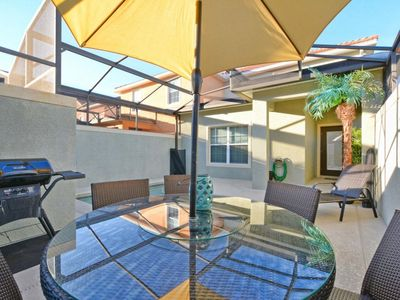Photo for SOUTH FACING POOL, KIDS THEME BEDROOM, 2 MASTER SUITES, BBQ GRILL, FREE WIFI!!