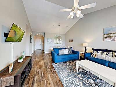 Photo for New Listing! Updated Barefoot Villa Getaway w/ 2 Pools & Free Beach Shuttle